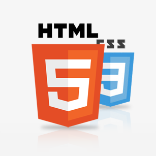 html5 template and layout